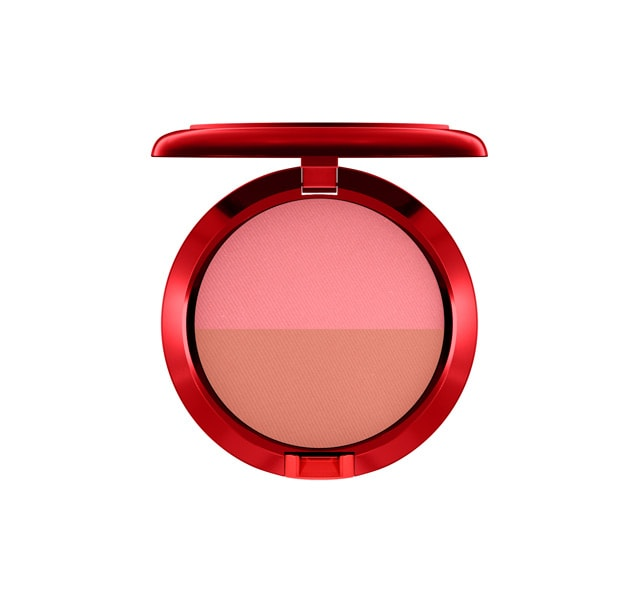 Powder Blush (Duo) / Lucky Red